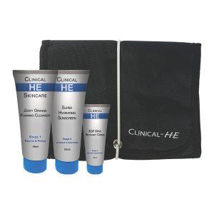 Clinical HE Men's Facial Kit