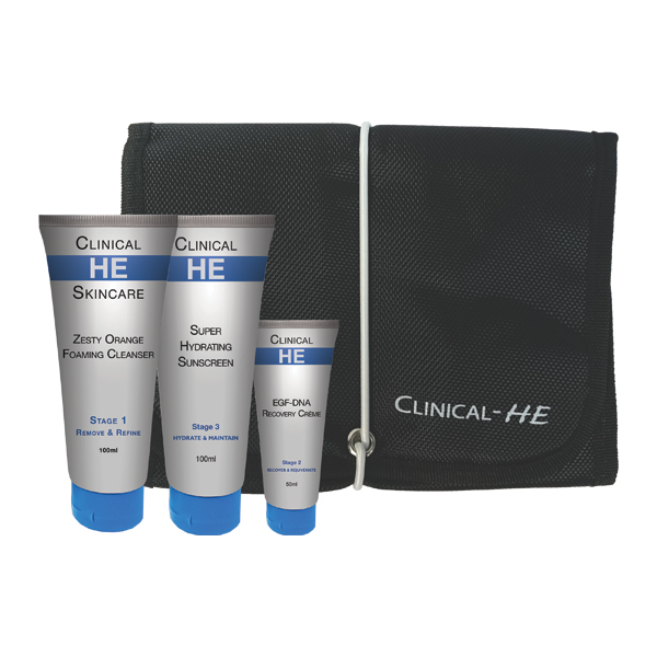 Clinical HE Men's Facial Kit